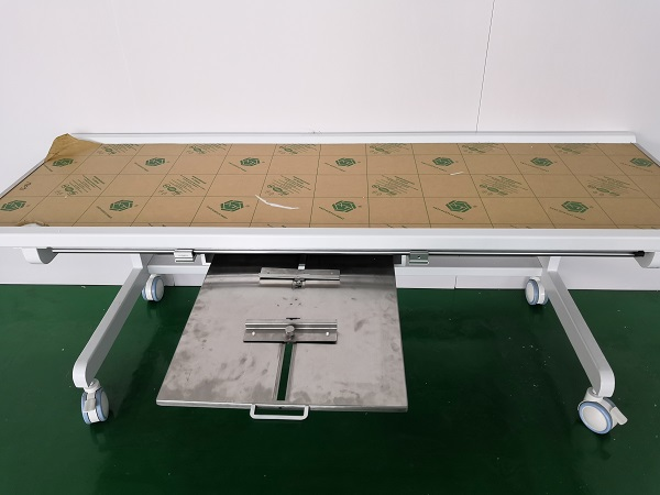 photography X-ray table with mobile DR X-ray machine