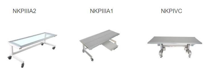 three type of newheek best-selling mobile X-ray tables