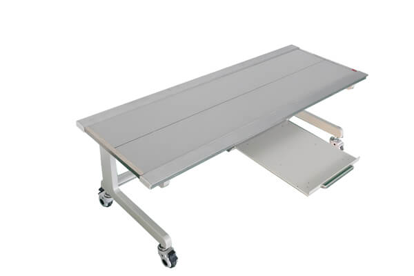 Economic design Radiology table with bucky