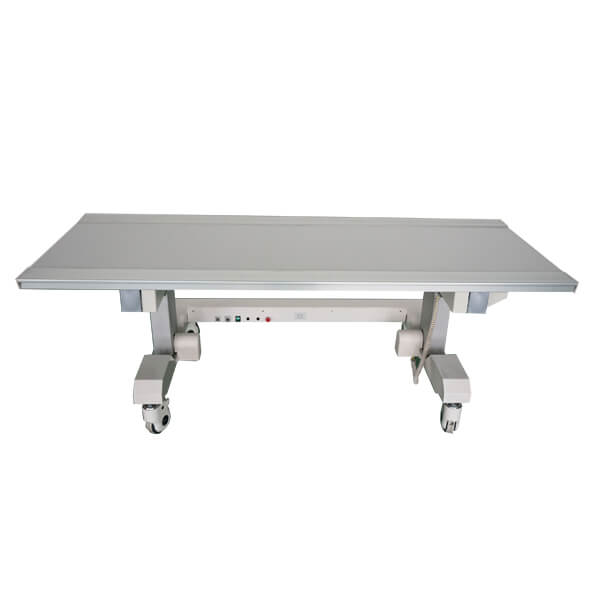 X-ray floating table electrical for surgical x-ray front low