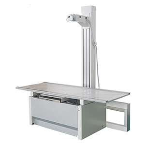 DR radiography table with 4 way floating