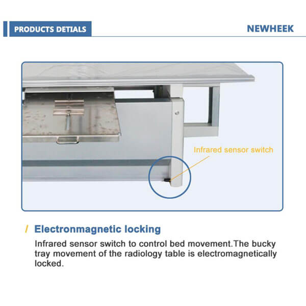 Lookup table x ray features locking