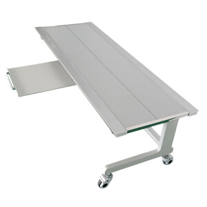 mobile radiography table with bucky