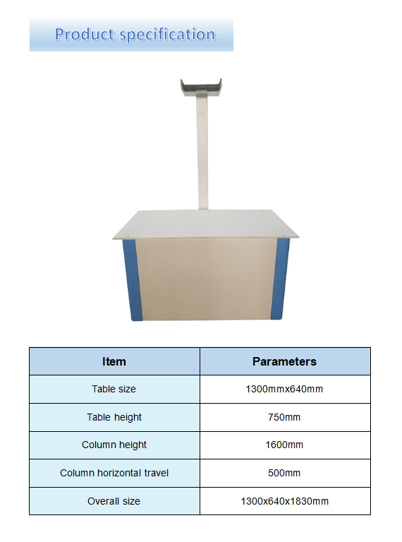 Simple Veterinary Table specification
