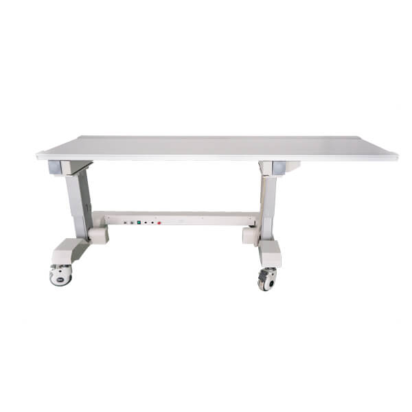 Six Way X Ray Table suitable for radiology use front right