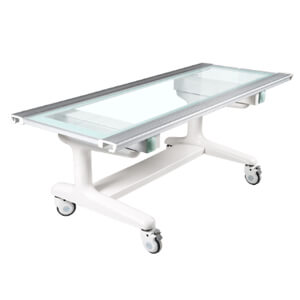 X ray four way floating table by electric control