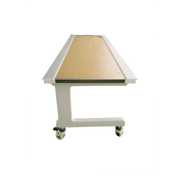 X ray simple flat table mobile type left side