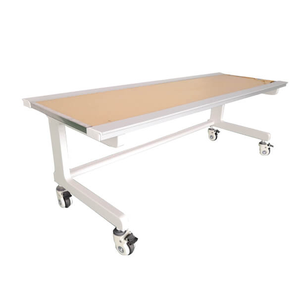 X ray simple flat table mobile type left