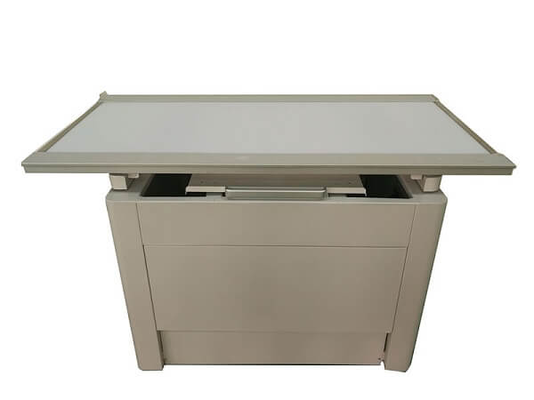 X-ray vet table four direction floating top radiology table for animal table