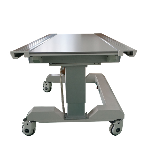 Can I use a mattress on the radiology table