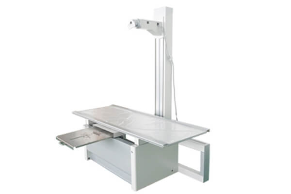 Features of medical X ray table