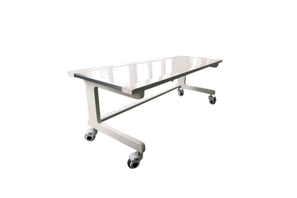Medical X ray table material features