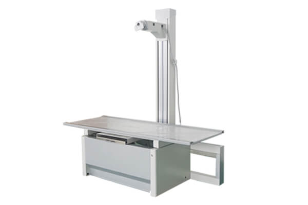 Medical X ray table range of use