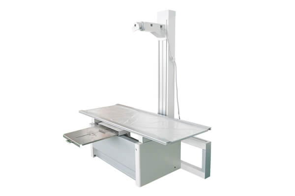 Medical X ray table structure for use