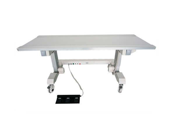 Medical X ray table table material