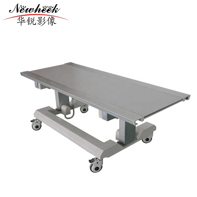 six-way floating radiology table