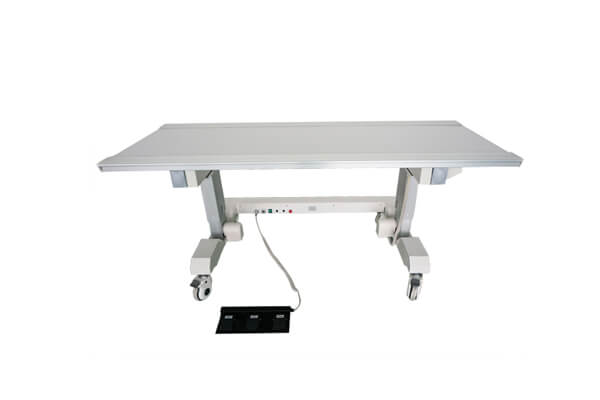 Mobile X ray table material