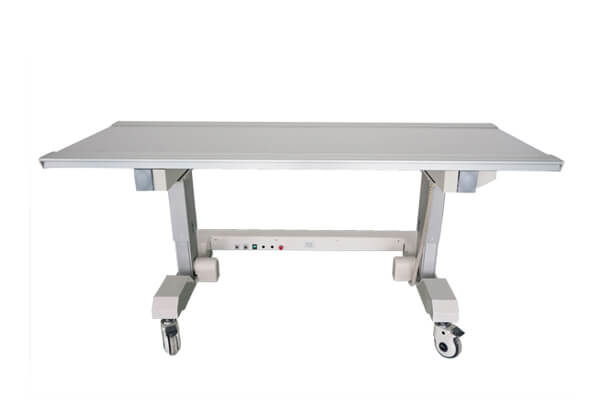Mobile medical x ray table