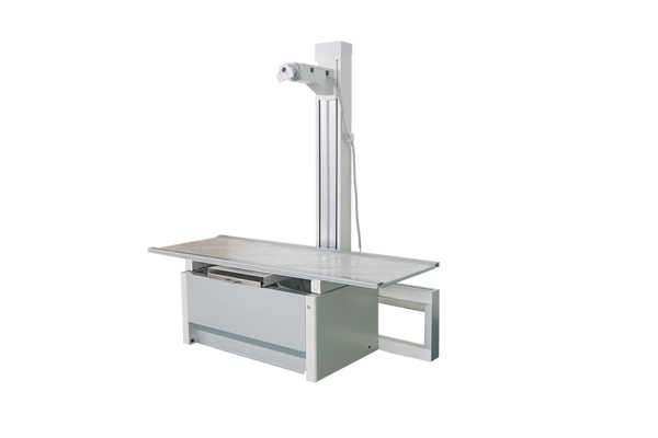 Pipe support of  medical x ray table