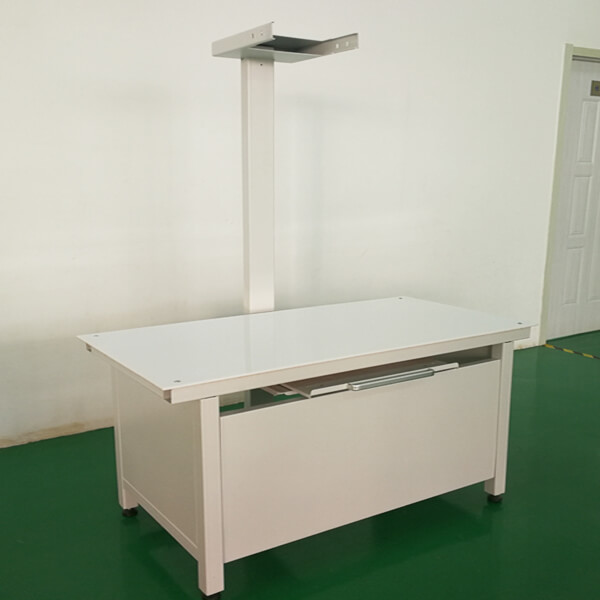 The Veterinary X ray table is used in X ray machines