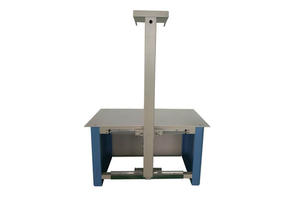 Veterinary X ray table for small X ray machines