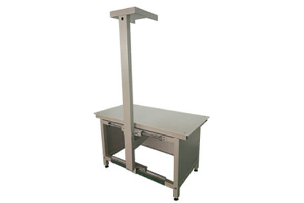 Veterinary x ray table is configured for pet X ray machines