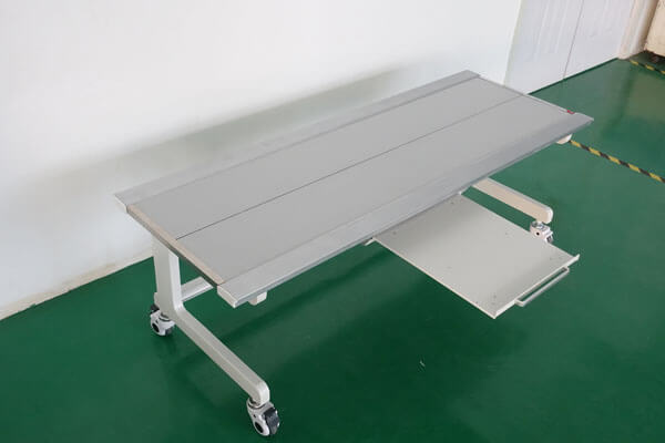 X ray operation table for digital X ray machines