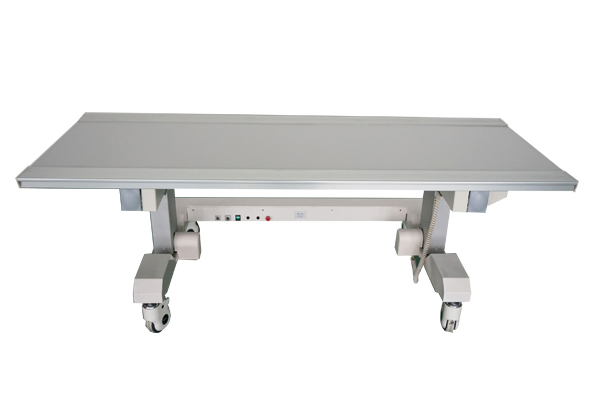 Medical x ray table drawers for integrated photography flat bed