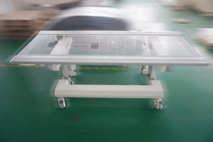 six way floating radiology table