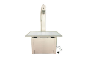 How to use the veterinary x ray table for animal